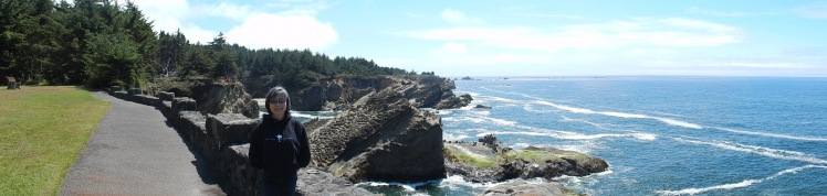 Check out the angle of the rock outcrops!