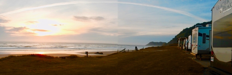 Sunset @ Yachats, OR