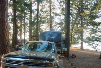 Rocky Point campground #41 Lake Almanor