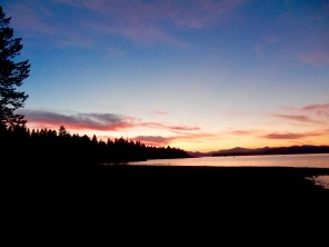 Rocky Point campground, Lake Almanor