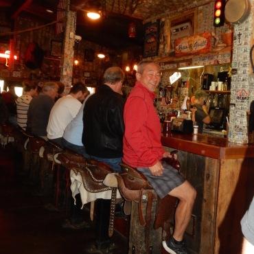Saddle Seat Bar