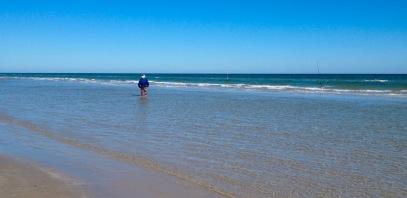Fisherman at Padre Island