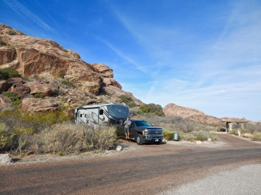 Hueco Tanks State Park Campground