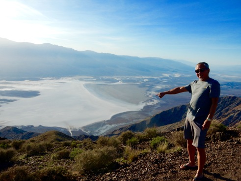 Dantes view, looking at Badwater Basin