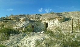 Dublin Gulch - Man made cave dwellings