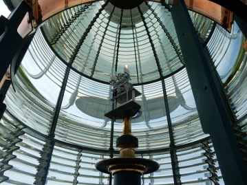 Yaquina Head lighthouse, Fresnel Lens