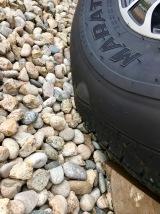 Bubble in fifth-wheel tire