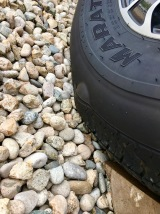 Bubble in fifth-wheel tire