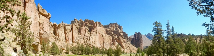 On the trail @ Smith Rock