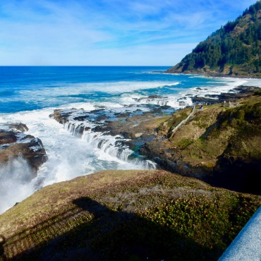 Spouting Horn and Thors Well Scenic Area, Oregon