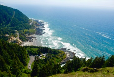 Cape Perpetua Scenic Area, West Shelter trail