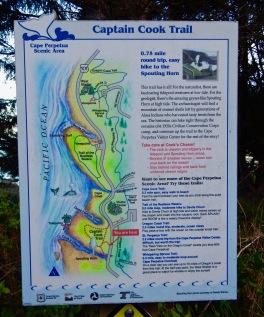 Captain Cook Trail, Oregon Coast