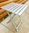 easy fold aluminum camp table