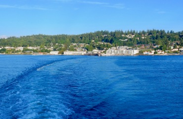 Leaving Mukilteo on the Tokitae ferry