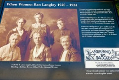 History of women in Langley, WA