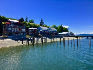 Langley Harbor waterfront
