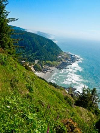 Oregon Coastline, Cape Perpetua Scenic Area