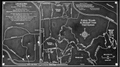 Putney Woods trail map