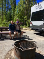 Redfish Lake Campsite