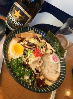 Ultra House Ramen and Sapporo
