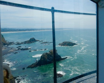 View from Yaquina Head Lighthouse, Oregon coast