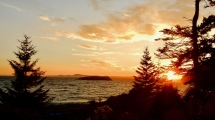 Sunset @ Deception Pass State Park